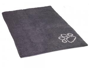 Dörrmatta Microfiber - Dry&Clean - 61x45cm - Grå