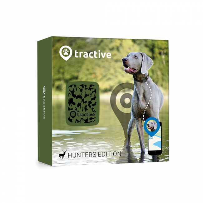 Tractive GPS Pet Tracker Hunter
