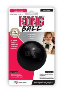 KONG Ball Extreme  ø ca7,5 cm, M/L Svart