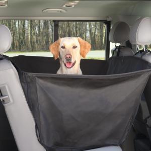 Bilskydd för baksäte med sidopaneler 150x135 cm