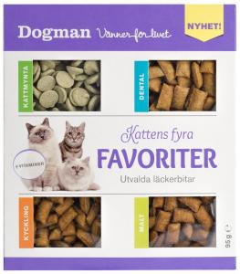 Kattens fyra favoriter