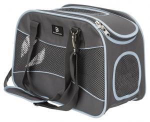 Alison transportväska,20 × 29 × 43 cm, grå/blå