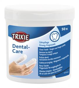 Fingerpads mint, för tandvård, 50 st
