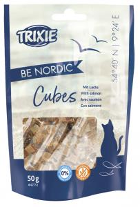 BE NORDIC Salmon Cubes,50 g