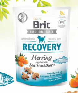 Brit Functional Snack Recovery Herring 150 g