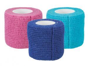 Bandagebinda, självhäftande, 5 cm/4,5 m, 27-pack