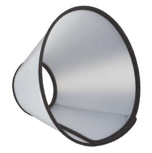 Hundkrage m kardborre, L/XL: 50-58 cm/28 cm