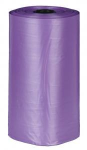 Bajspåsar, lavendeldoft, 4 rullar x 20 st, lila, M