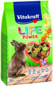 Life Power 600g, Kanin