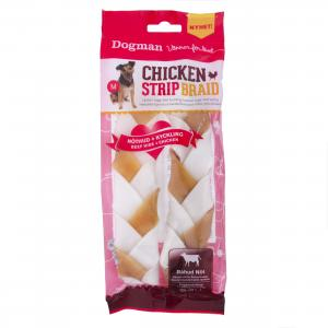Chicken Strip Braid 2-pack M