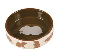 Matskål keramik motiv hamster 8 cm 80 ml