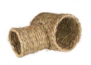 Grästunnel, T-vinklad, marsvin/kanin 30×25×50 cm