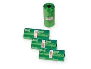 Bajspåsar - TidyUp - 4x15 påsar - Grön Ben