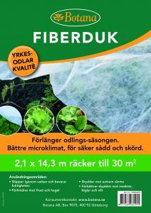 Fiberduk 30 kvm 2,1*14,3 m 1 st