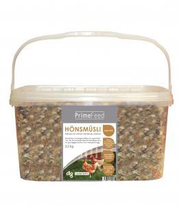 Hönsmusli GMOfri, hink 3,3 kg 3,3 kg