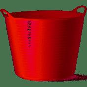 Tubtrug Medium 26l röd 1 st