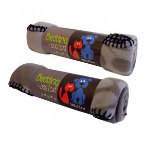 Hundfilt Grå/Beige Sömn 100x70cm