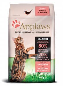 Applaws katt Adult Chicken&Salmon 400 g