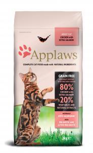 Applaws katt Adult Chicken&Salmon 2 kg