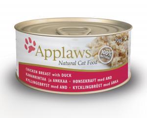 Applaws katt konserv Chicken&Duck 70g