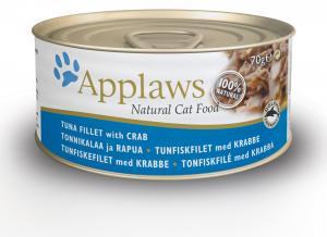 Applaws katt konserv Tuna&Crab 70g