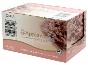 Applaws katt konserv Tuna+Salmon Senior 70g