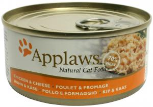Applaws katt konserv Chicken Breast&Cheese 156g