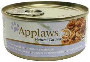 Applaws katt konserv Tuna Fillet&Cheese 156g