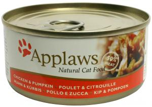 Applaws katt konserv Chicken Breast&Pumpkin 156g