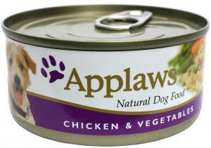 Applaws hund konserv Chicken,Veg&Rice 156g