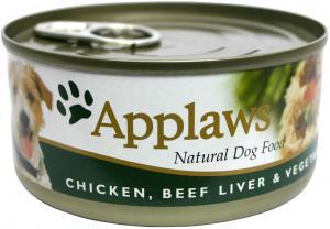 Applaws hund konserv Chicken,Beef,Liver&Veg 156g