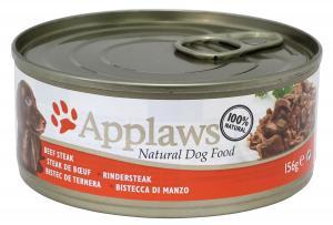 Applaws hund konserv Beefsteak 156g