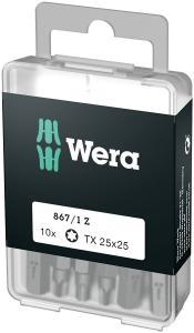 Torx TX25 Wera 10 pack