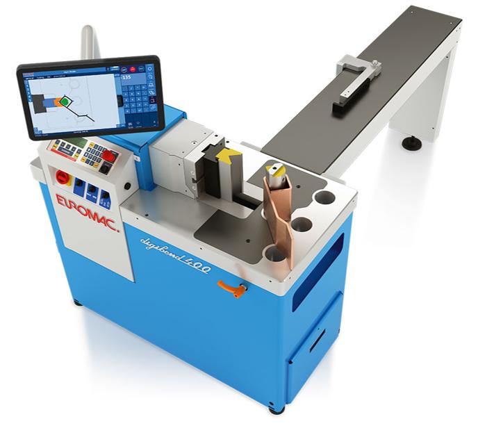 Horisontal press Digibend 400 CNC