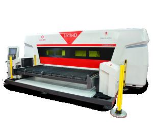 Fiberlaser skärmaskin - Automatisk lastning av pallar