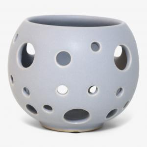 Karlevi bordslykta liten ∅11cm, grå