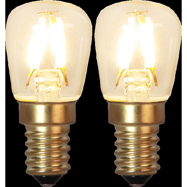 LED-LAMPA E14 2-PACK SOFT GLOW