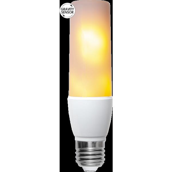 LED-LAMPA E27 T45 FLAME