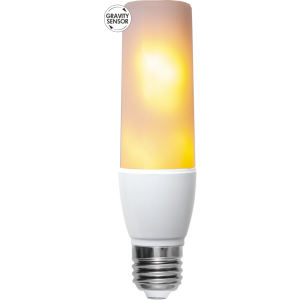 LED-LAMPA E27 T45 FLAME