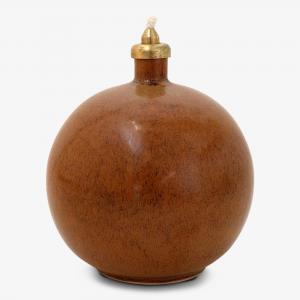 Ekerum Oljelampa ∅12cm, brun