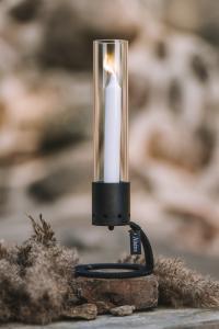 Äleklinta ljusstake 33cm, svart