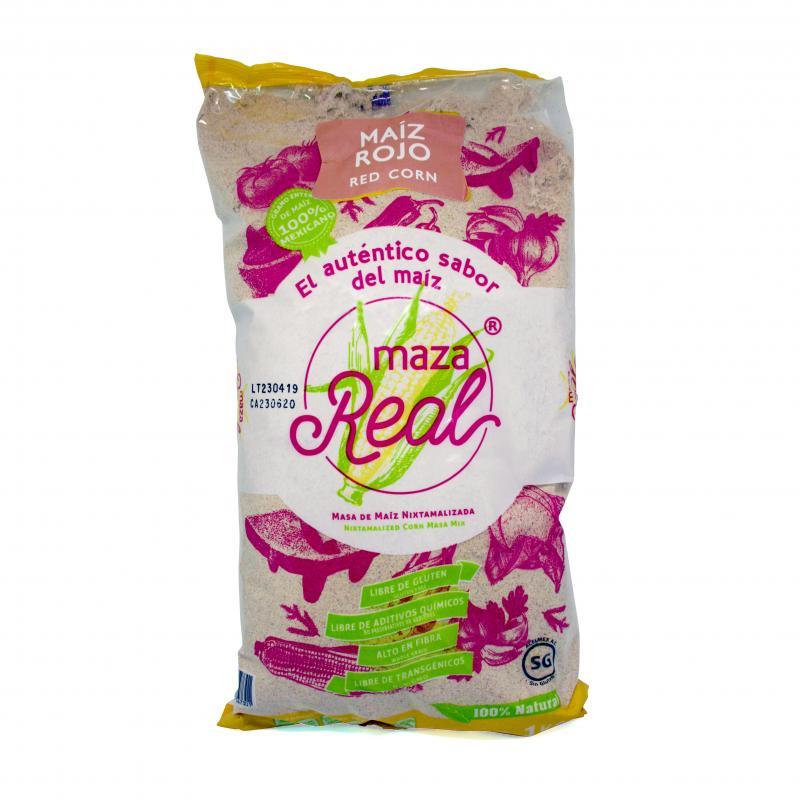 Rött majsmjöl för tortillabröd, MAZA REAL