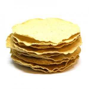 Tostadas (rostat tortillas), 12 cm, 10 tostadas per påse