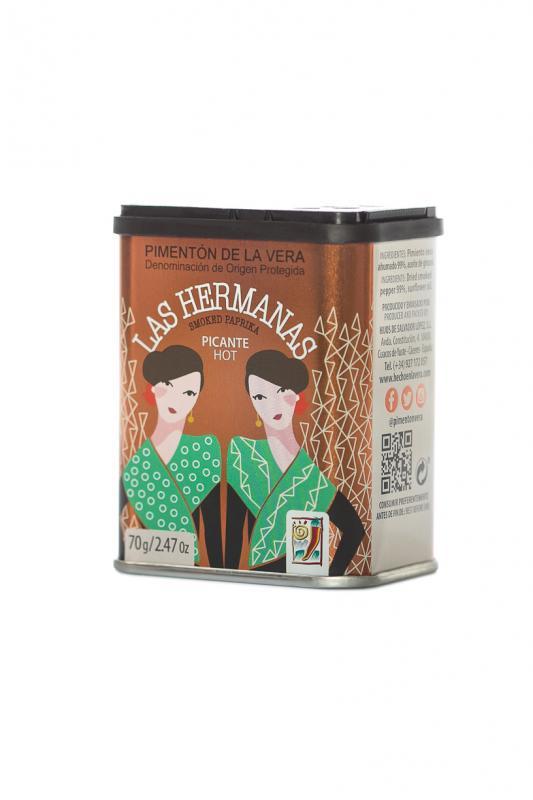 Pimenton de La Vera, pikante (stark), 70 g