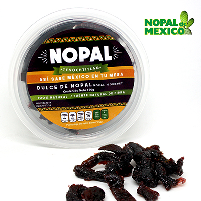 Torkade Nopal (kaktus), 150 g