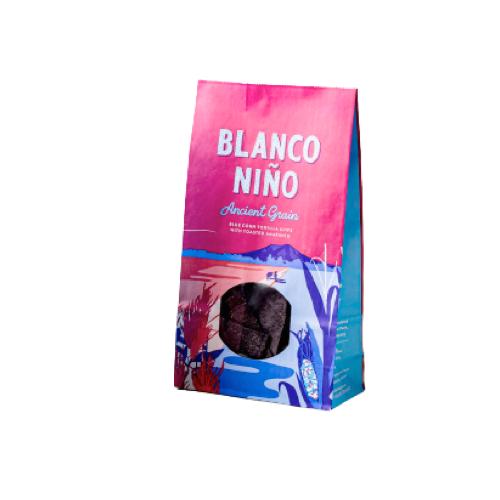 Blå majs tortillachips med amarant, Blanco Niño, 170 g