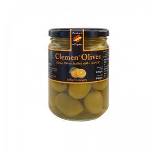 Oliver fylld med naturlig apelsin, 440 g
