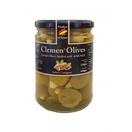 Oliver fyllda med mandlar, 440 g