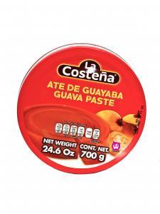 Inlagd guava paste (ate de guayaba),  La Costeña, 700 g