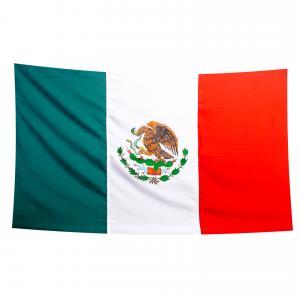 Mexikansk flagga, 90x150 cm